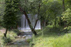 Fotografare le cascate - dati di scatto: ISO 100 - f/22 - 1 sec.