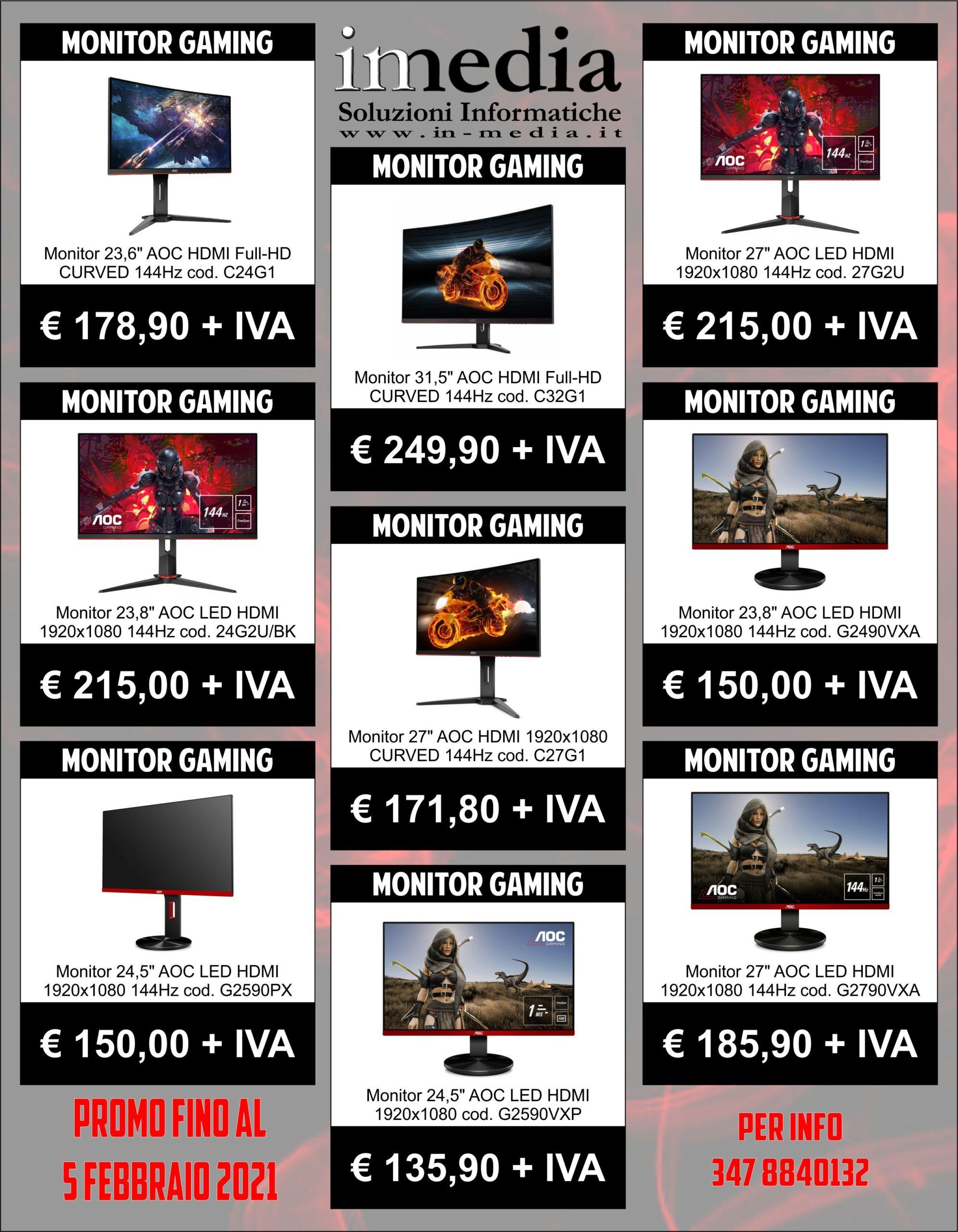 Monitor Gaming AOC