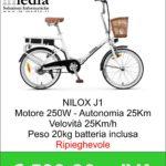 Bicicletta elettrica - Nilox eBike J1