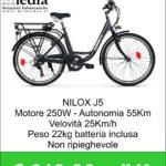 Bicicletta elettrica - Nilox eBike J5